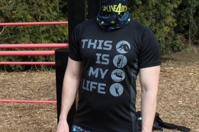 Sportovní tričko This Is My Life