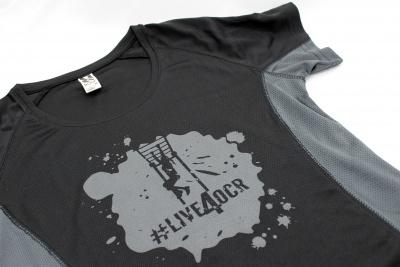 Sportovní tričko ručkování / #life4ocr