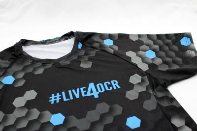 Kompresní tričko #live4ocr