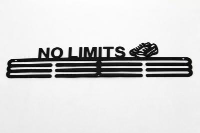 Kovový věšák na medaile  - No Limits
