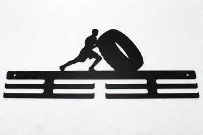 Kovový věšák na medaile - pneu